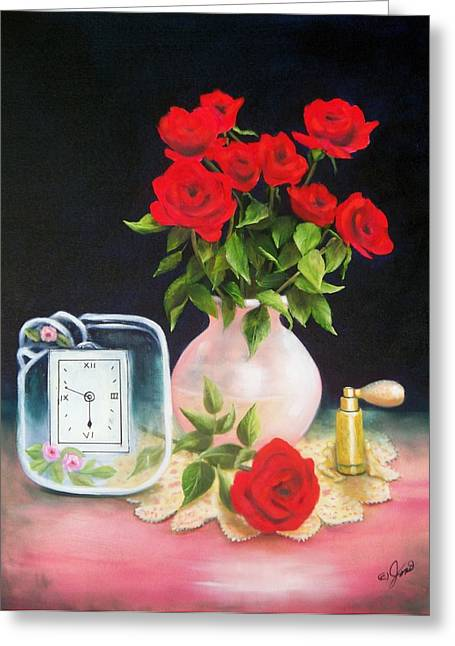 Still Life 6 Greeting Card by Joni McPherson