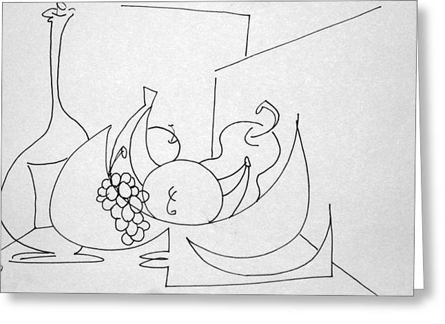 Denny Casto Greeting Cards - Still life in a room of its own Greeting Card by Denny Casto