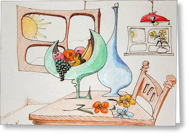 Denny Casto Greeting Cards - Still life in the home Greeting Card by Denny Casto