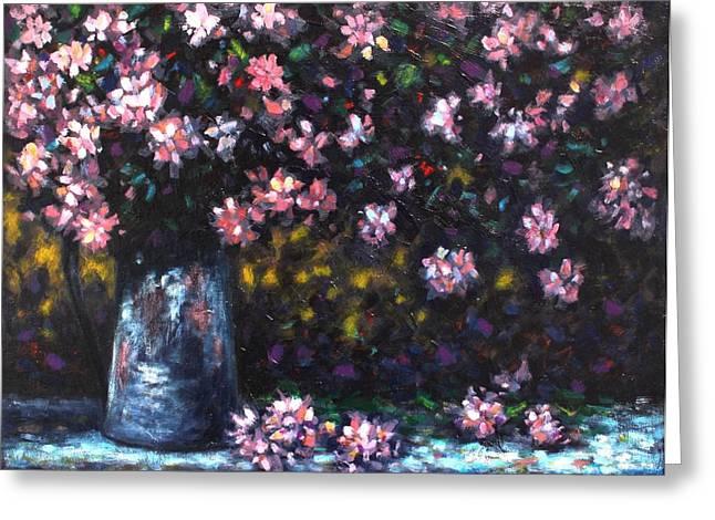 Flower Still Life Prints Greeting Cards - Still Life Greeting Card by John  Nolan