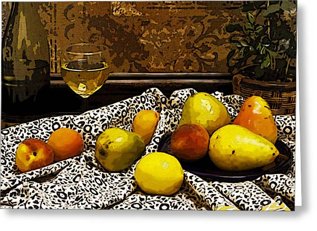 Artistic Expression Greeting Cards - Still Life Greeting Card by Marion McCristall