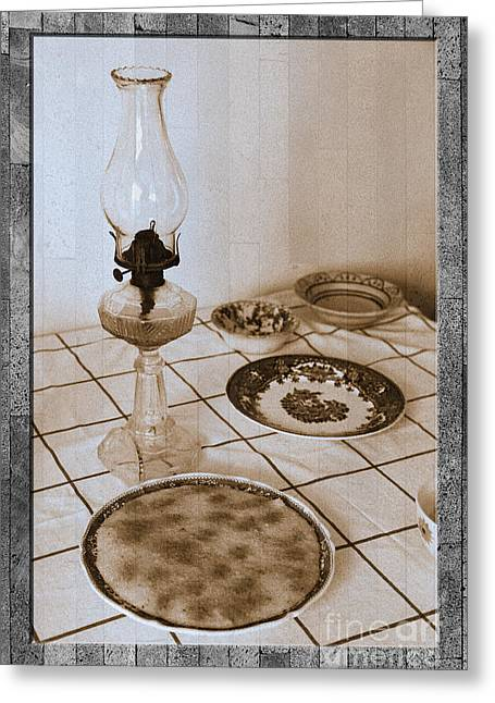 Composite Art Greeting Cards - Still life on basalt Greeting Card by Gaspar Avila