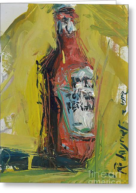Heinz Paintings Greeting Cards - Still Life Painting Greeting Card by Robert Joyner