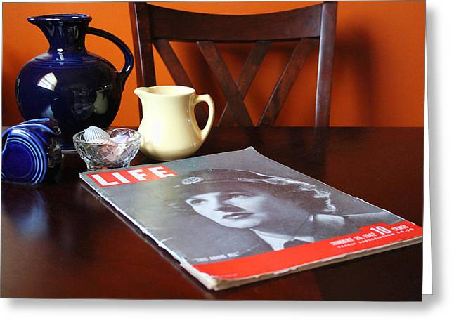 Table Setting Greeting Cards - Still LIFE Greeting Card by Peter Chilelli