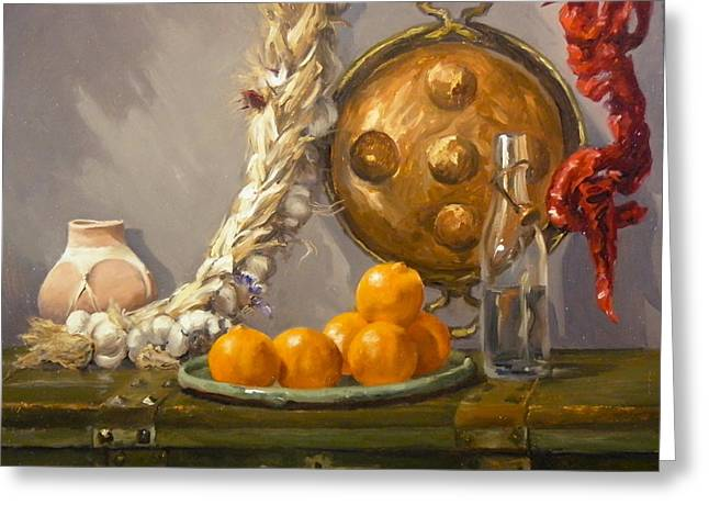 Still Life Greeting Card by Roger Clark