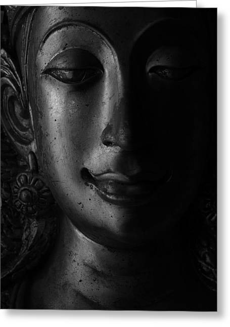 Buddha Sculptures Greeting Cards - Still Life Greeting Card by Thanakorn Phattong