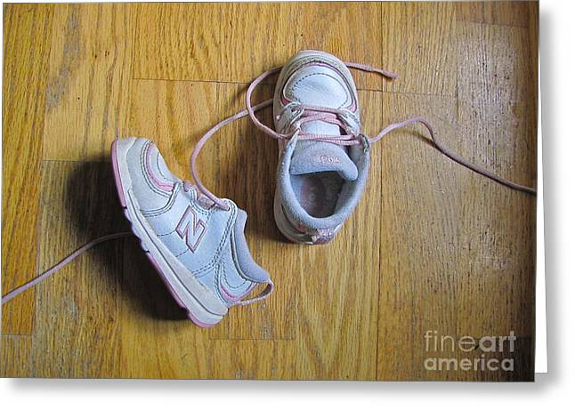 Still Life With Sneakers Greeting Card by Sean Griffin