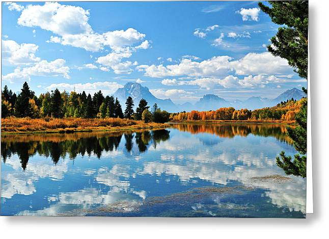 Landscape Art Greeting Cards - Still Reflections Greeting Card by Greg Norrell