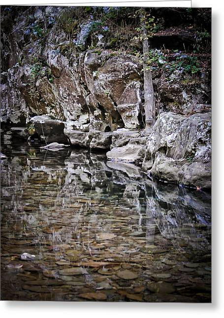 Swift Family Greeting Cards - Still River Greeting Card by Swift Family