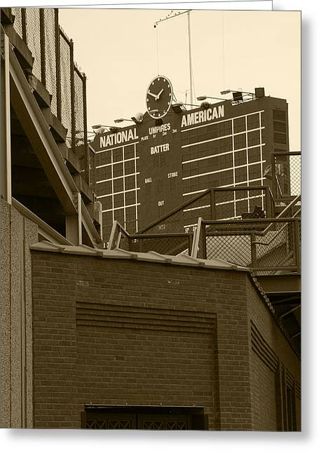 Center Field Greeting Cards - Still undefeated Greeting Card by David Bearden