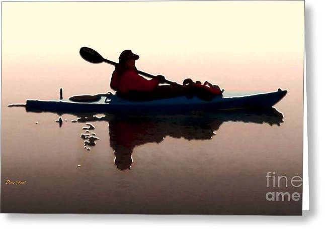 Still Waters Greeting Card by Dale   Ford