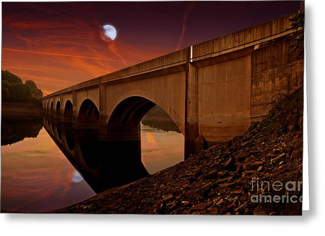 Still Waters Run Deep Greeting Card by Nigel Hatton