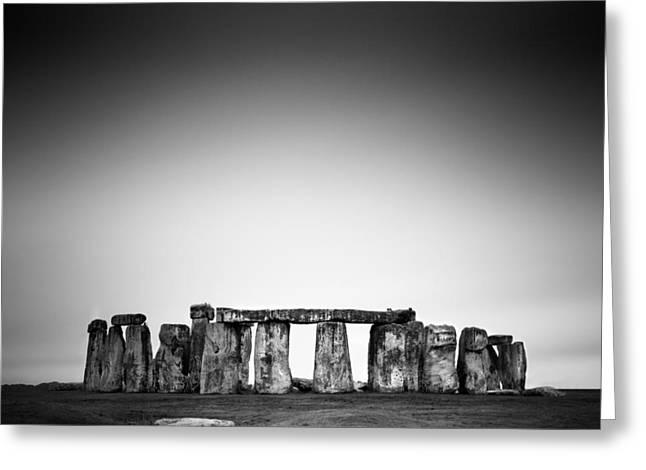 Sightseeing Photographs Greeting Cards - Stonehenge Greeting Card by Nina Papiorek