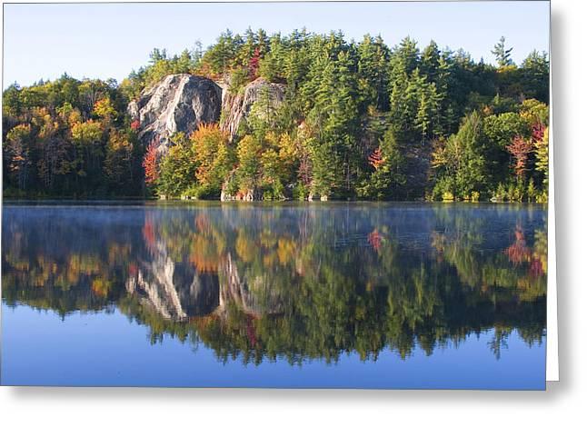 Northeastern United States Greeting Cards - Stonehouse Pond  Greeting Card by Larry Landolfi