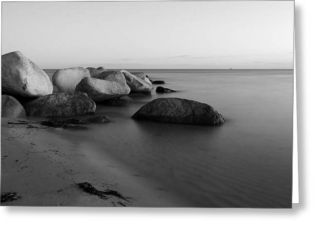 Stein Greeting Cards - Stones in the sea 2 Greeting Card by Falko Follert