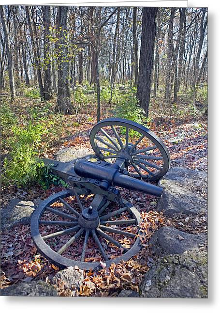 Civil War Battle Site Greeting Cards - Stones River Battlefield Greeting Card by Luc Novovitch