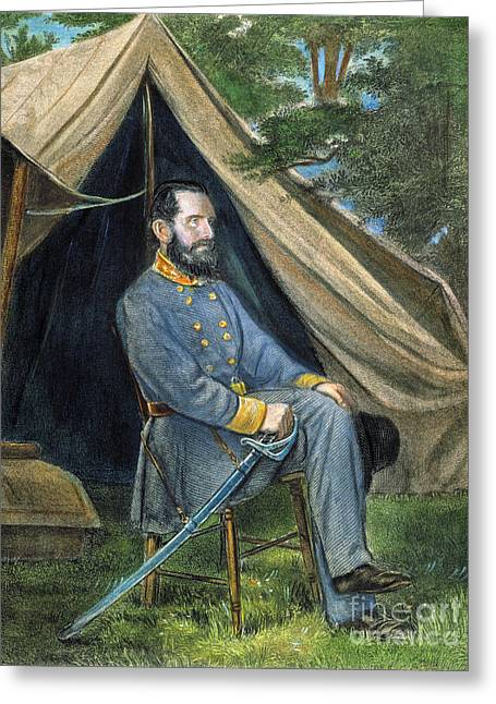 Stonewall Greeting Cards - Stonewall Jackson Greeting Card by Granger