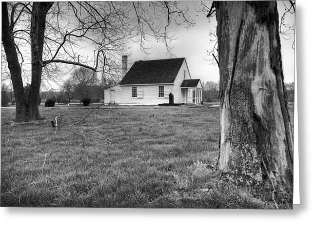 Dï¿¿r Greeting Cards - Stonewall Jackson House Greeting Card by Harry H Hicklin