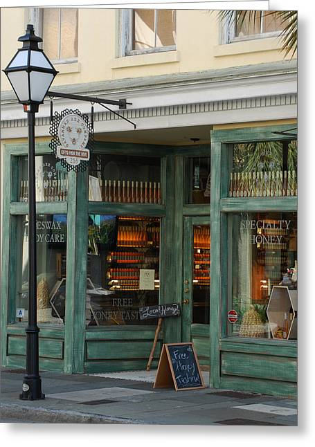 Store Fronts Greeting Cards - Store Front Greeting Card by Thomas Pickens
