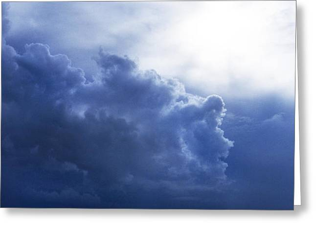 STORM ANGEL Greeting Card by Skip Willits