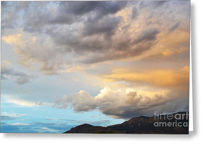 Pastel Mountains Prints Greeting Cards - Storm Beauty Greeting Card by Andrea Hazel Ihlefeld