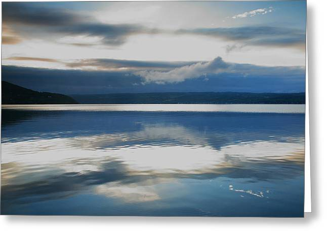 Storm Clearing II Greeting Card by Steven Ainsworth