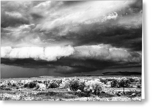 Storm Clouds Greeting Card by Greg Jones