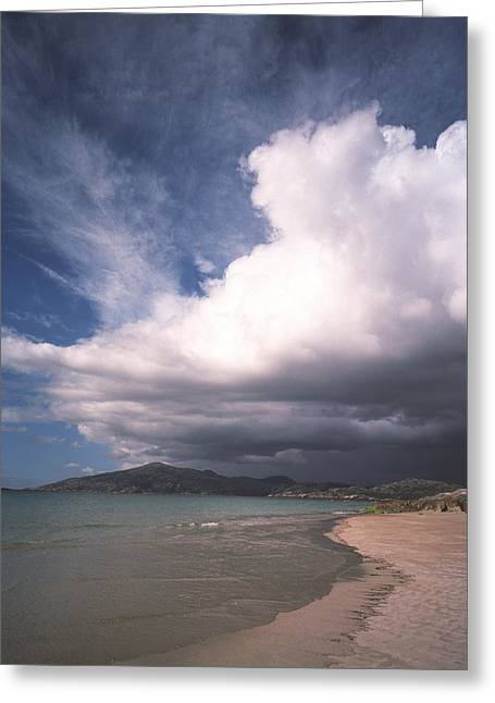 Western Isles Greeting Cards - Storm Clouds Greeting Card by Michael Marten