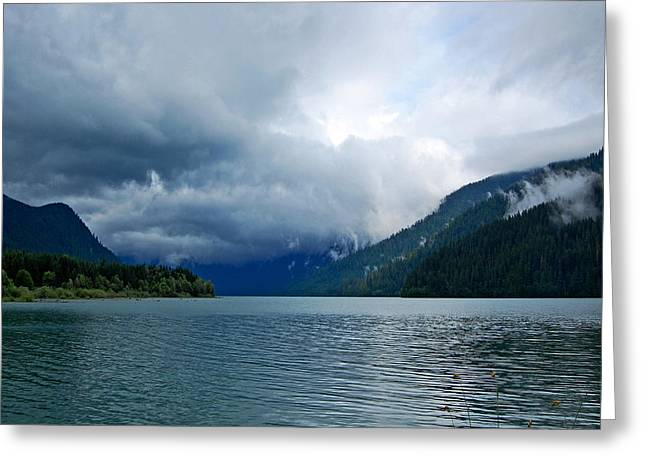 Randall Templeton Greeting Cards - Storm clouds.. Greeting Card by Randall Templeton