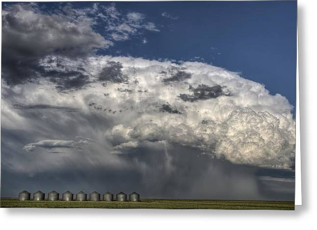 Storm Clouds thunderhead Greeting Card by Mark Duffy