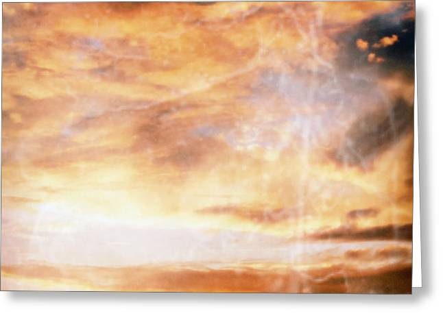 Heavens Gate Greeting Cards - Storm Greeting Card by Skip Nall