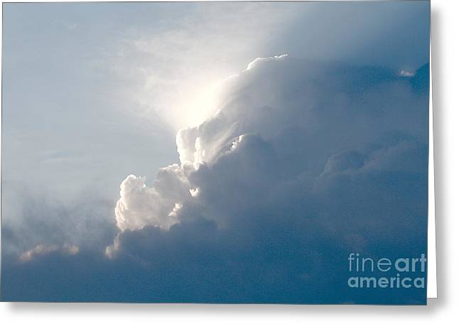 Storms Over Greeting Card by Robert Pearson