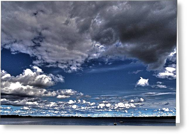 Southern Province Greeting Cards - Stormy Clouds ... Greeting Card by Juergen Weiss