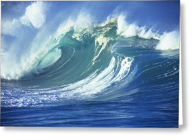 Vince Greeting Cards - Stormy Ocean Greeting Card by Vince Cavataio - Printscapes
