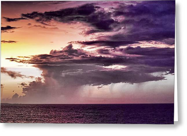 Stormy Weather Greeting Cards - Stormy Weather Greeting Card by Douglas Barnard
