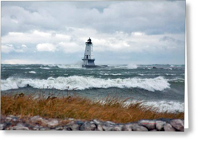 Timothy J Berndt Greeting Cards - Stormy Weather Greeting Card by Timothy J Berndt