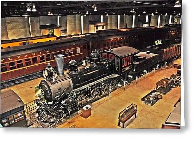 Strasburg Greeting Cards - Strasburg Railroad Museum Greeting Card by Bill Cannon