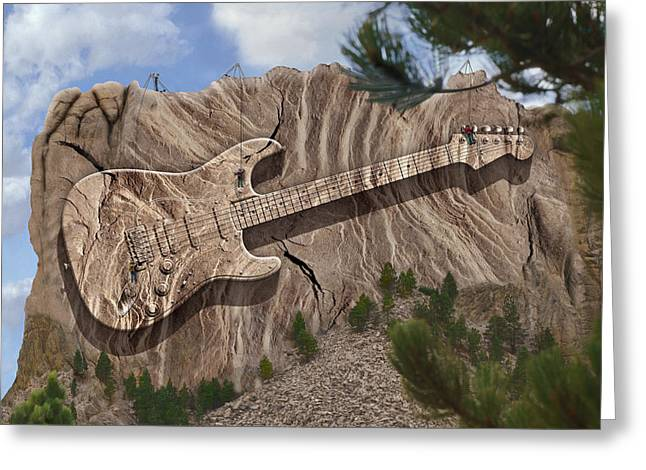 Imaginative Art Greeting Cards - Rock and Roll Park Greeting Card by Mike McGlothlen