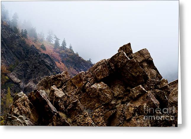 Scenery Greeting Cards - Streaking Greeting Card by Joseph Rossi
