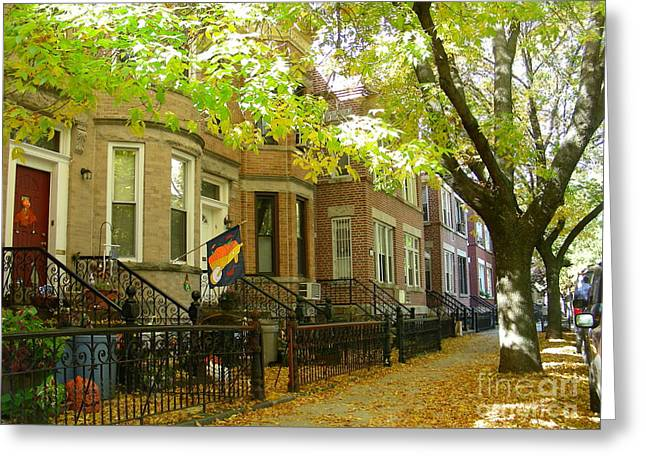 Bklyn Greeting Cards - Windsor Terrace Greeting Card by Mark Gilman