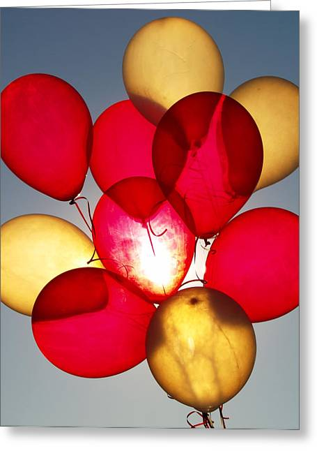 Baloon Greeting Cards - StreetFair Greeting Card by Robert Trauth