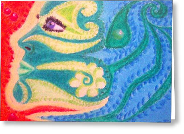 Strength Pastels Greeting Cards - Strength Greeting Card by Terrie Bilkey