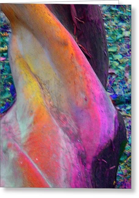 Greeting Card featuring the digital art Stretch by Richard Laeton