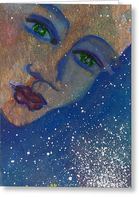 Strength Spiritual Greeting Cards - Strong Women of the World Persuasion Greeting Card by Ilisa  Millermoon
