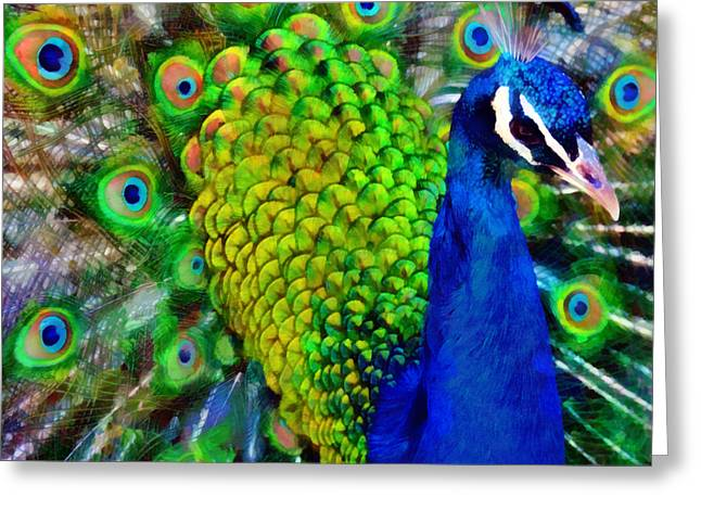 Strut Proudly Greeting Card by Angelina Vick