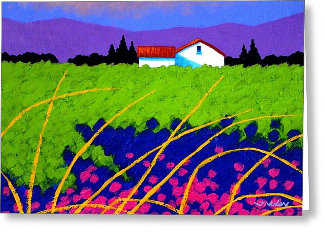 Emotive Greeting Cards - Study for Provence Painting Greeting Card by John  Nolan
