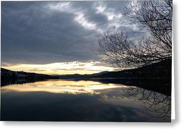 Stunning Tranquility Greeting Card by Will Borden