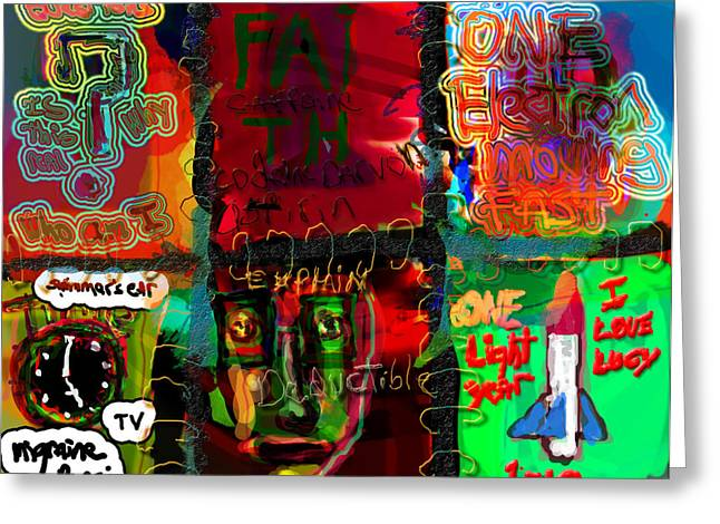 Various Digital Greeting Cards - Styles and Word Association Greeting Card by James Thomas