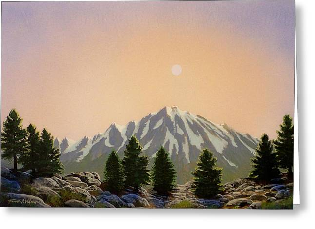 Pacific Crest Trail Greeting Cards - Sublime Sierra Light Greeting Card by Frank Wilson