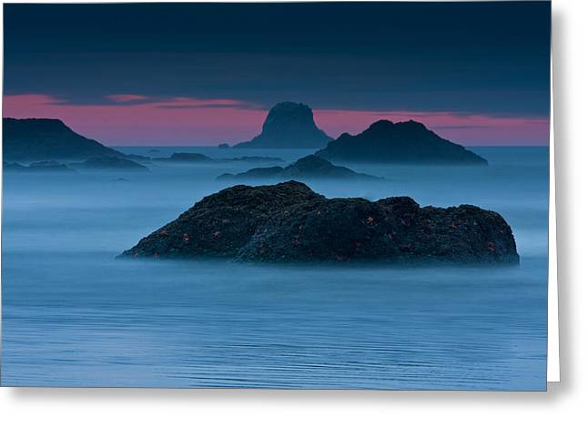 Olympic National Park Greeting Cards - Subtle Bliss Greeting Card by Mark Kiver
